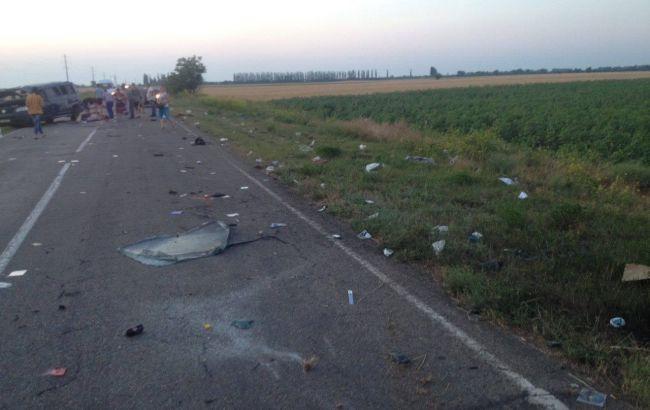 В Херсонской области в ДТП погибли два человека