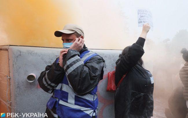 Массовые митинги проходят в 11 областях: полиция усилила безопасность