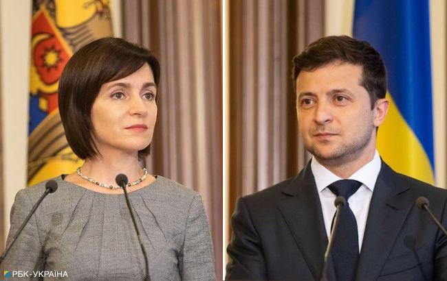 Зеленский ценит, что Санду не боится называть Крым украинским