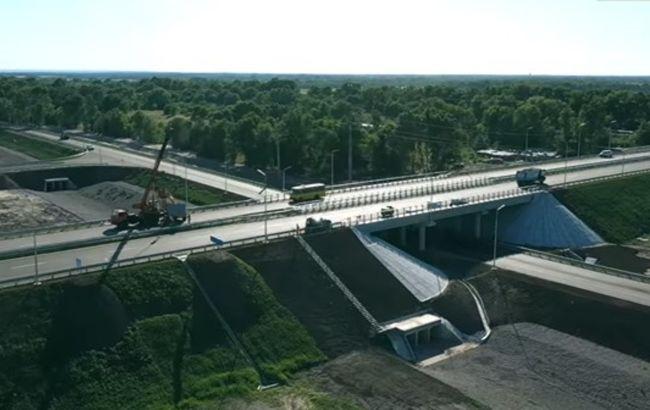В Днепропетровской области осталось достроить 29 км новой трассы на Киев