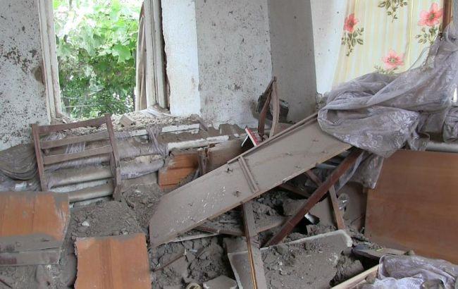 Фото: бойовики обстріляли селище Сартана