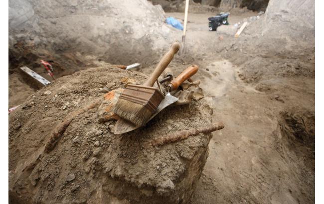 Фото: Розкопки на Поштовій (Віталій Носач, Styler)