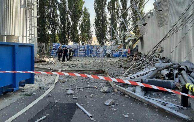 Поліція відкрила справу через вибух на підприємстві в Києві