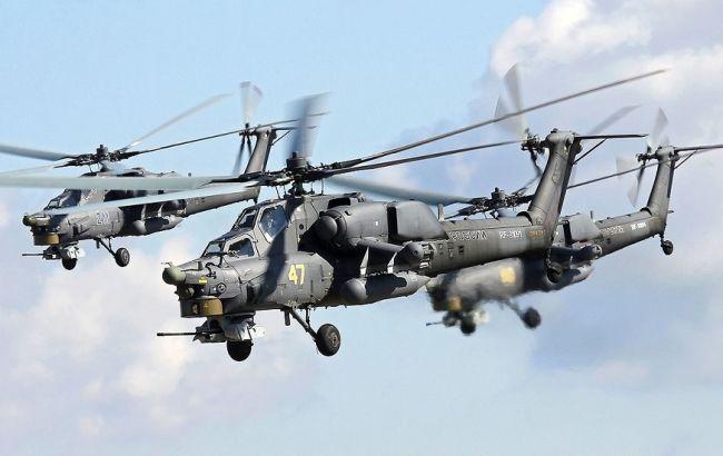 У Росії розбився військовий вертоліт, двоє загиблих