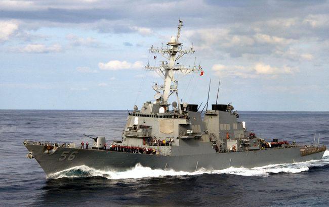 США обнаружили останки всех пропавших после столкновения эсминца моряков