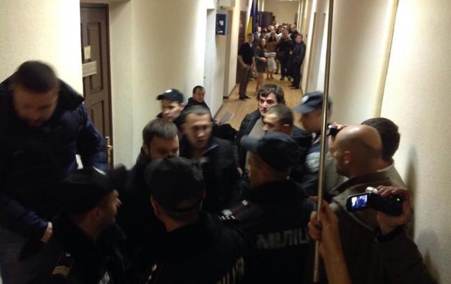 Фото: на суді у справі Мосійчука сталася бійка
