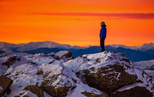 Украинец показал всю красоту карпатских вершин в трехминутном видео