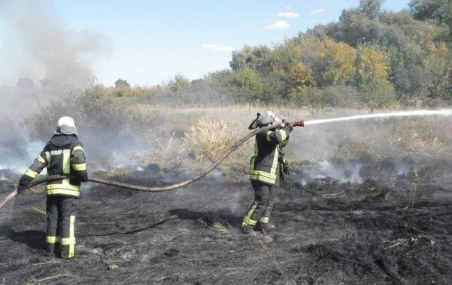 У Луганській області ліквідовано найбільший осередок пожежі