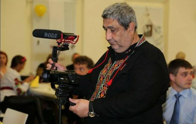 Фото: журналіст Володимир Шрейдлер (facebook.com)