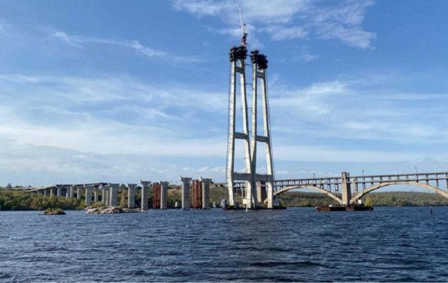 Рух по всім частинам Запорізького мосту планується відкрити до Дня незалежності, - Тимошенко