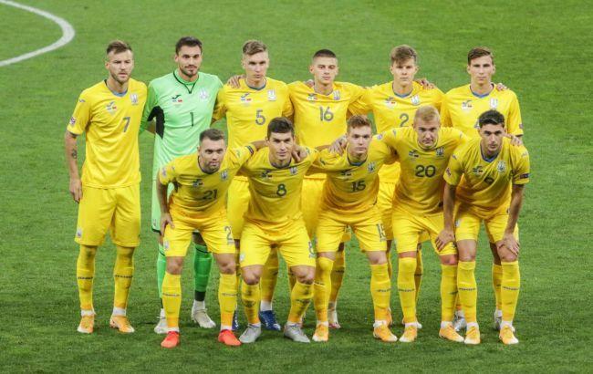 Сборная Украины по футболу возвращается из Швейцарии