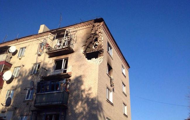 Пожар на складе боеприпасов в Сватово вызывала сигнальная ракета