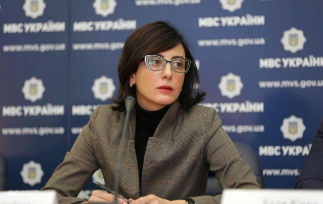 Деканоїдзе подала Авакову клопотання про звільнення глави поліції Києва Терещука