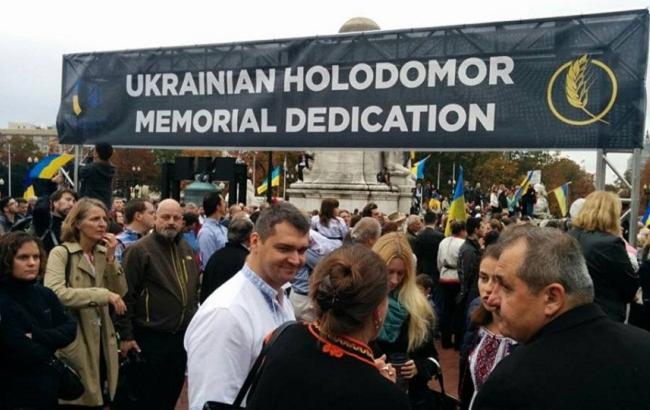В Вашингтоне появился мемориал жертвам Голодомора