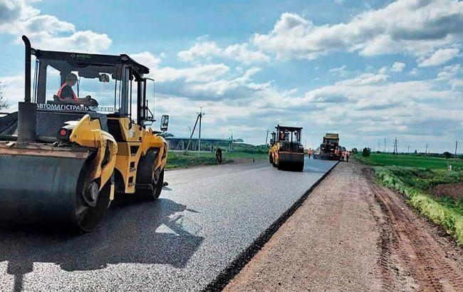 Восстановление дороги от Павлограда в направлении Донецкой области завершают в июне