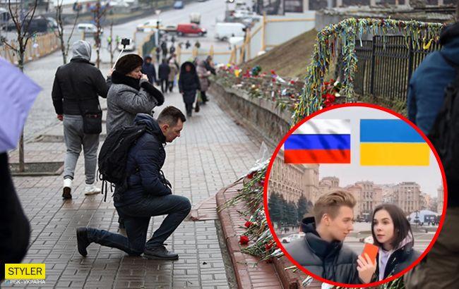 Блогерка зізналася в любові Росії на Майдані, але отримала гідну відповідь (відео)