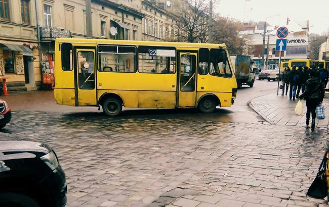 Фото: Львовская маршрутка (korupciya.com)