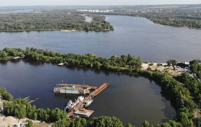 На будівництві мосту у Кременчуці за програмою президента завершують геологічні вишукування