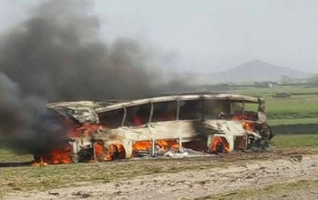 Число погибших в автокатастрофе в Афганистане достигло 52 человек