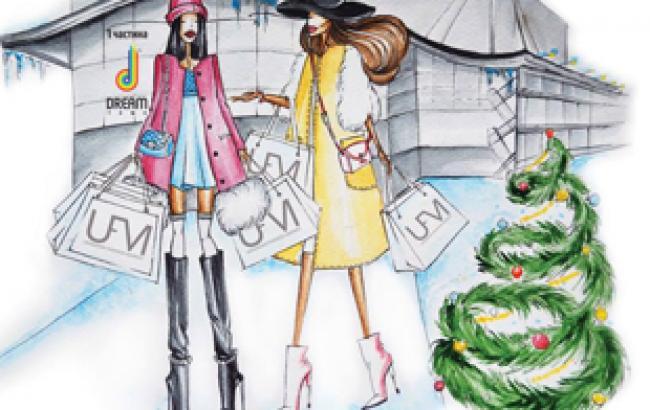 Ukrainian Fashion Market. Christmas dreams