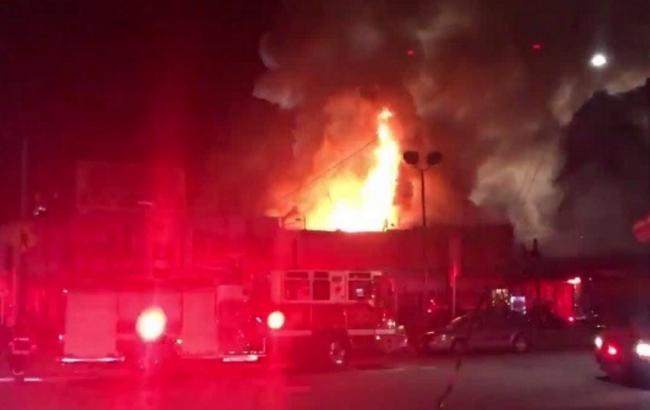 Жертвами пожара вОкленде стали гости незаконной вечеринки
