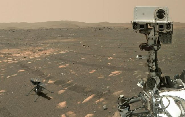 Гелікоптер NASA здійснив четвертий політ на Марсі: піднявся вище, пролетів далі