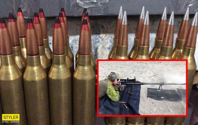Властелин горизонта: видео с испытаний новейшей украинской снайперской винтовки