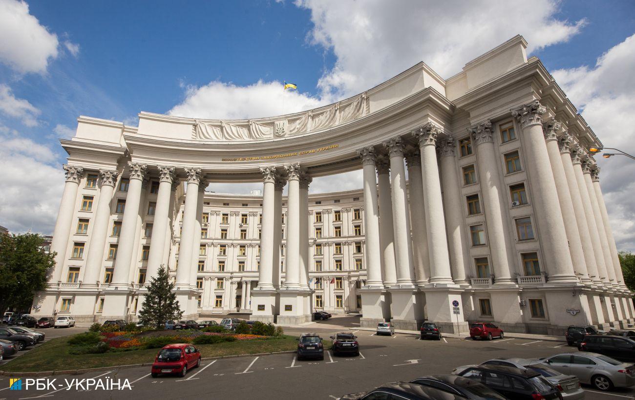 МИД отреагировал на задержание украинских журналистов в Минске