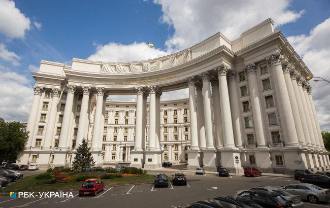 МИД Украины отреагировал на марш ко дню создания дивизии СС в Киеве