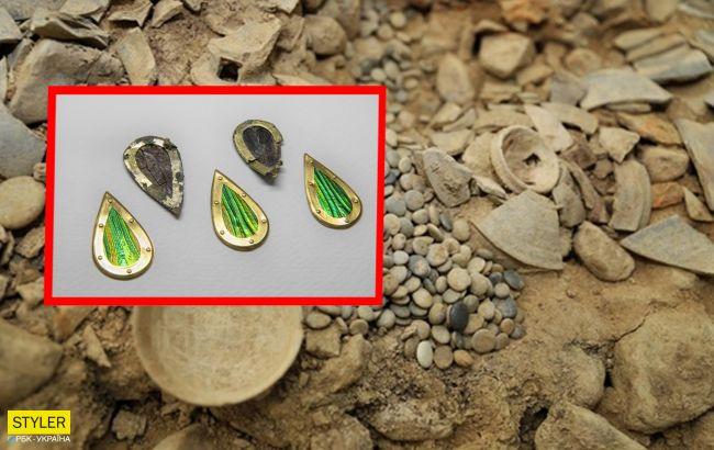 Археологи нашли в древней гробнице необычные украшения, которым больше тысячи лет