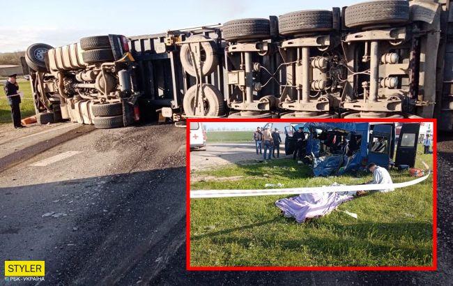 В России в смертельное ДТП попал автобус с юными спортсменами: много жертв (видео, фото)