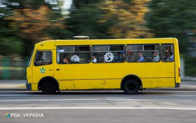 В маршрутках возле Киева частично снизили повышенные ранее цены на проезд