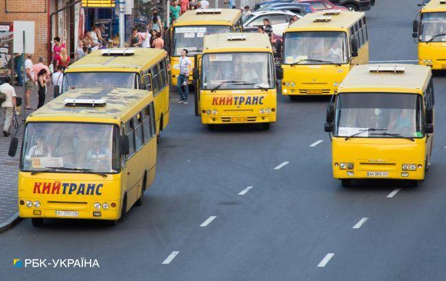 Вне контроля. В Киеве планируют провести рейды по маршруткам