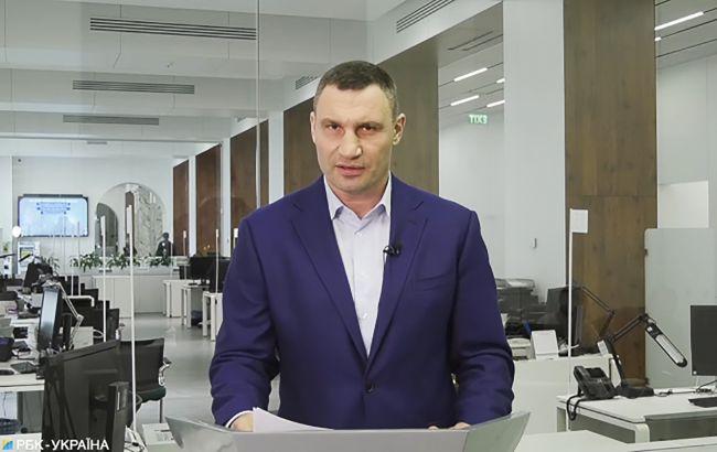 Кличко показал видео из COVID-отделения детской больницы
