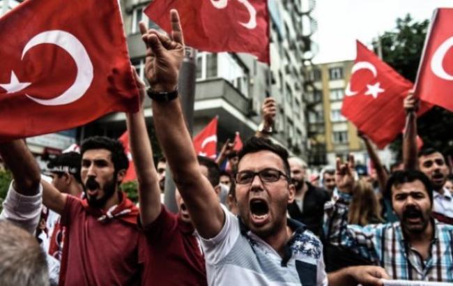 Фото: митинг в Стамбуле
