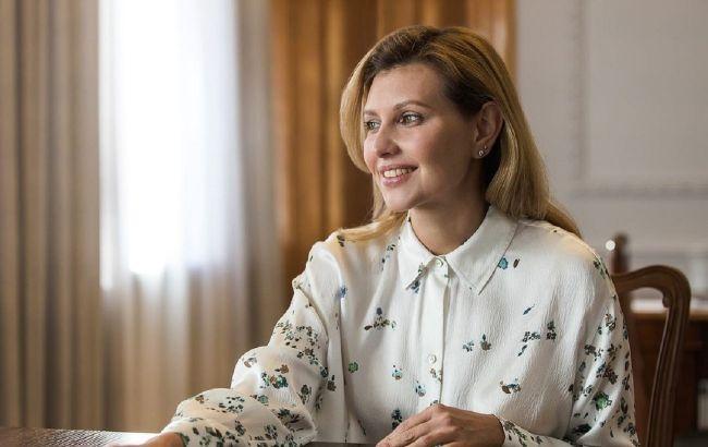 Зеленская в элегантном образе рассказала о моде и украинских дизайнерах