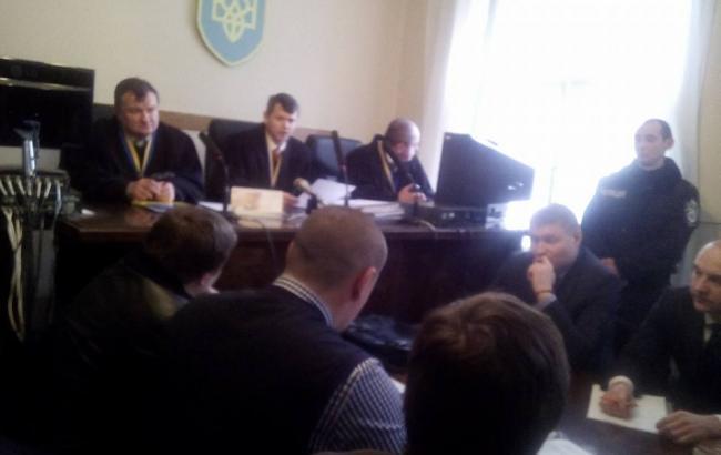 Фото: суд над учасниками конфлікту на Драгобраті