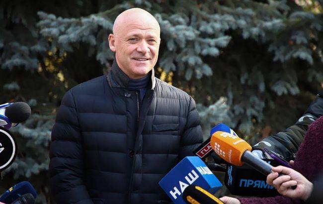 Труханов проголосовал на выборах мэра Одессы