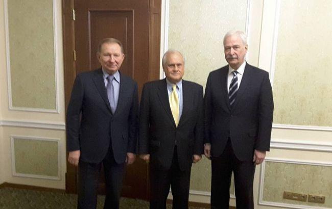 Фото: в Минске прошло заседание контактной группы по Донбассу
