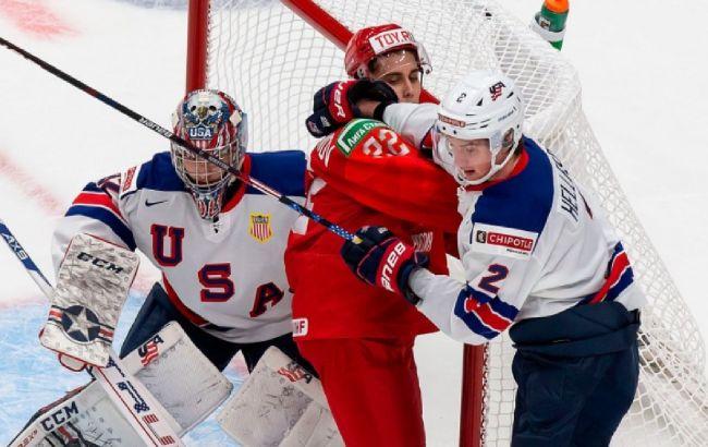 Россию переименовали на Чемпионате мира по хоккею: фото позора