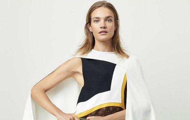 Сукня-пальто і грубі черевики: Наталія Водянова в стильному зимовому образі підкорила Париж