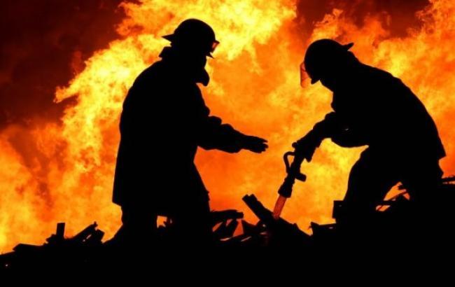 Кандидат заявил о пожаре на двух участках в Днепропетровской обл., ГосЧС опровергает