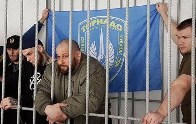 Суд вКиеве вынес вердикты 8-ми солдатам расформированного подразделения ОМОНа «Торнадо»