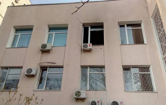Фото: здание суда Голосеевского района Киева
