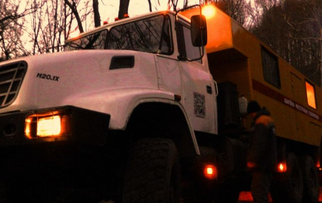 Фото: во Львовской области продолжается ликвидация аварии на газопроводе