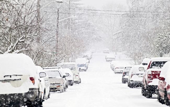 Фото: снігопад