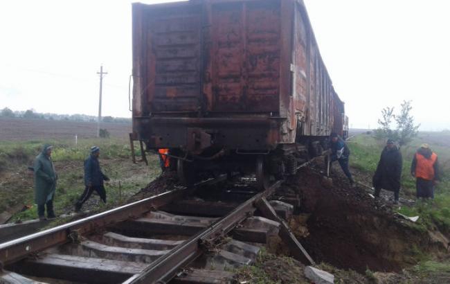 У Молдові через негоду було призупинено рух потягів