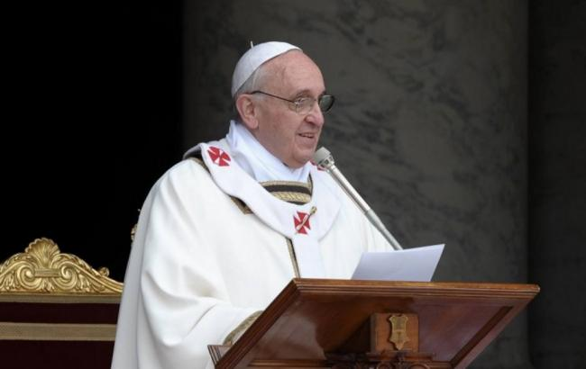 Папа Римський Франциск згадав Україну у великодньому посланні