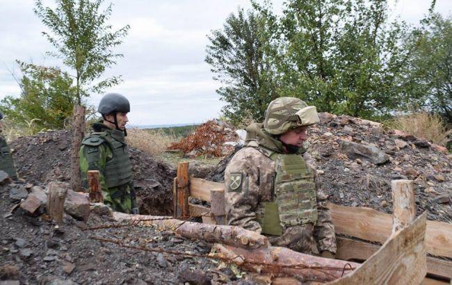 На Донбассе в течение дня боевики 6 раз нарушили перемирие, ранены 2 украинских военных, - штаб