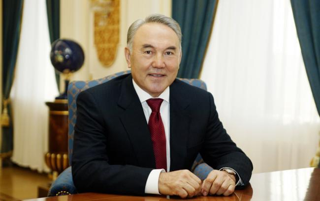 Фото: президент Казахстана Нурсултан Назарбаев